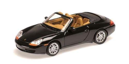 MINICHAMPS 400 061090 - Porsche 911 (996) Cabrio1998 - Black Metal